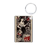 Pinup girl Keychains