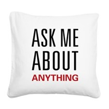 askany.png Square Canvas Pillow