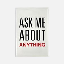 Ask Me Anything Rectangle Magnet (10 pack)