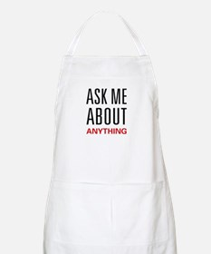 Ask Me Anything BBQ Apron