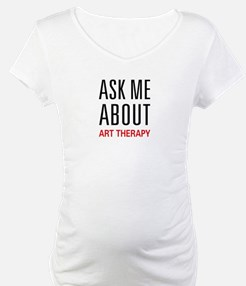 Ask Me About Art Therapy Shirt