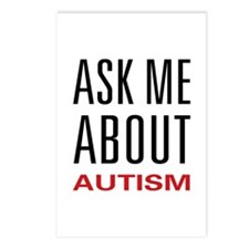 Ask Me Autism Postcards (Package of 8)