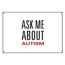 Ask Me Autism Banner