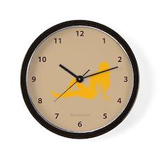 Mud flap girl Wall Clock