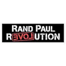 Rand Paul Revolution Bumper Car Sticker