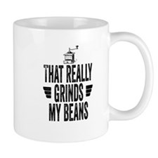 Grinding Coffee Beans Mugs