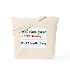 Half Italian, Half Portuguese Tote Bag