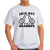 Grandpa to be Mens Light T-shirts