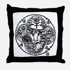 Chinese Zodiac – Ox Throw Pillow