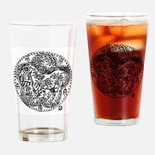 Chinese Zodiac – Horse Drinking Glass