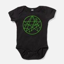 Cthulhu - Sigil of the Gateway Baby Bodysuit