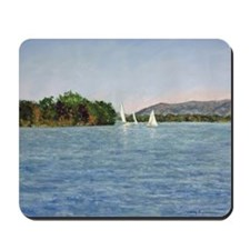 Trio of Sailboats, SML Mousepad