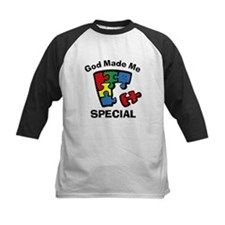 Autism God Made Me Special Tee