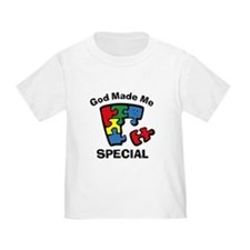 Autism God Made Me Special T