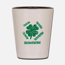 Irish Coffee Shot Glass