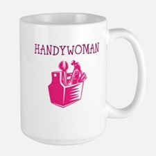 HANDY WOMAN Mugs
