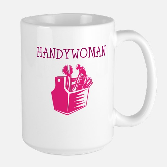 HANDY WOMAN Mugs
