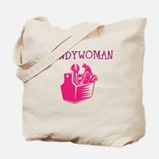 HANDY WOMAN Tote Bag