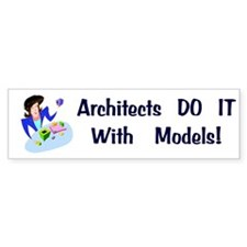 Architects Gift Bumper Bumper Sticker