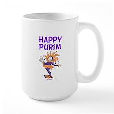 Happy Purim Jester Mug