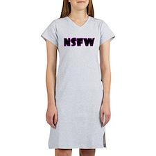 NSFW Women's Nightshirt