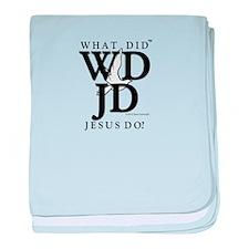 Jesus-WDJD baby blanket