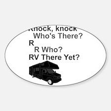 RV Knock, knock Decal