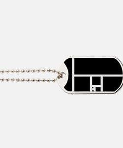 Golden Rectangle Dog Tags