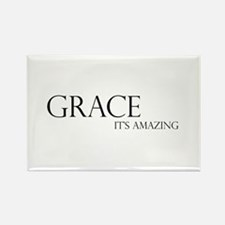 Black Grace It's Amazing Rectangle Magnet