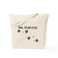Unique Saanen Tote Bag