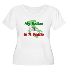 My Italian Wife is a Hottie T-Shirt