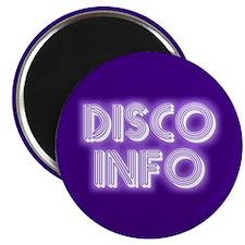Disco Info Magnet