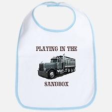 Playing in the Sand Box Bib
