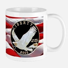 2008 Bald Eagle Dollar Small Small Mug