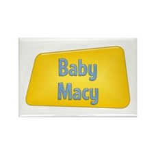 Baby Macy Rectangle Magnet