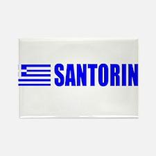 Santorini, Greece Rectangle Magnet