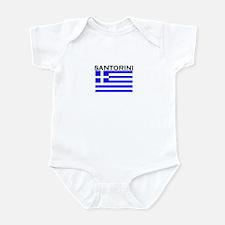 Santorini, Greece Infant Bodysuit