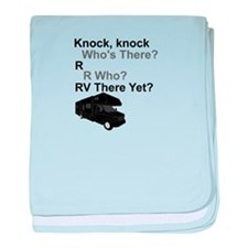 RV Knock, knock baby blanket
