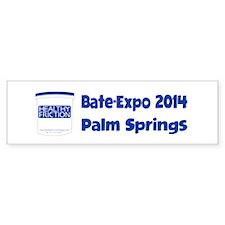 Bate-Expo 2014 Palm Springs Bumper Bumper Sticker