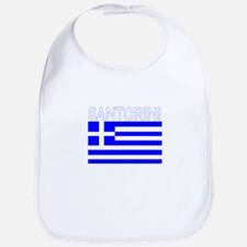 Santorini, Greece Bib