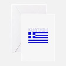Santorini, Greece Greeting Cards (Pk of 10)