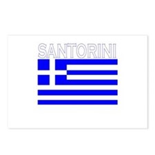 Santorini, Greece Postcards (Package of 8)