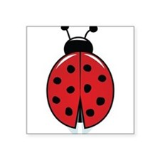 Red Ladybug Sticker