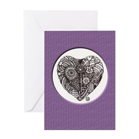 Key to love Greeting Card