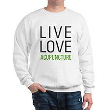 Live Love Acupuncture Sweatshirt