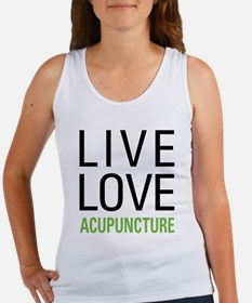 Live Love Acupuncture Women's Tank Top