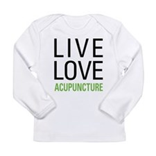 Live Love Acupuncture Long Sleeve Infant T-Shirt
