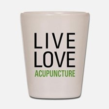 Live Love Acupuncture Shot Glass