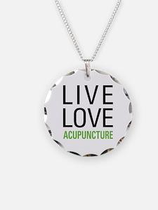 Live Love Acupuncture Necklace