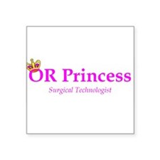 OR Princess ST Rectangle Sticker